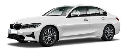 BMW Série 3, carro híbrido plug-in