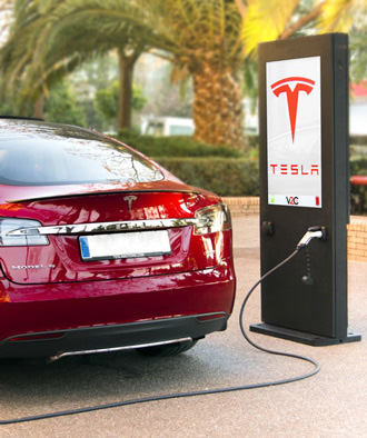 Carregamento publico carros elétricos