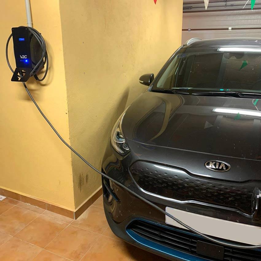 Carregar carro elétrico em casa