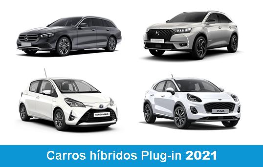 Carros híbrdos plug-in 2021