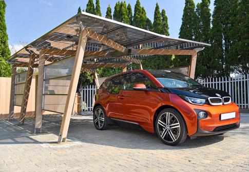 Wallbox solar para carregar carros elétricos